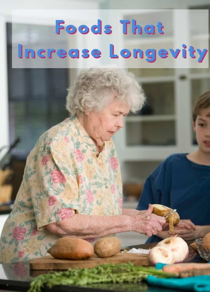 Foods That Increase Longevity - a Natural and Healthy Diet For Longevity